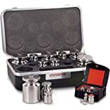 Calibration Weight Set, 100 G - 10 MG Rice Lake Stainless Steel Weight Class F Metric Set With Certficiate Of Accuracy NEW
