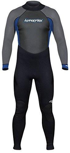 Hyperflex Wetsuits Men's Access 3/2mm Full Suit - (Blue, 3XL)
