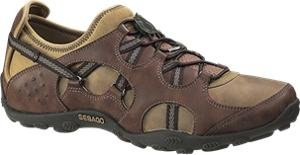 Sebago Wave Extreme Mens Casual Boat Brown Leather Shoes 8m Sebago Womens Wave