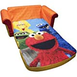 2-in-1 Flip Open Sofa, Sesame Streets Elmo hot new design for holidays!