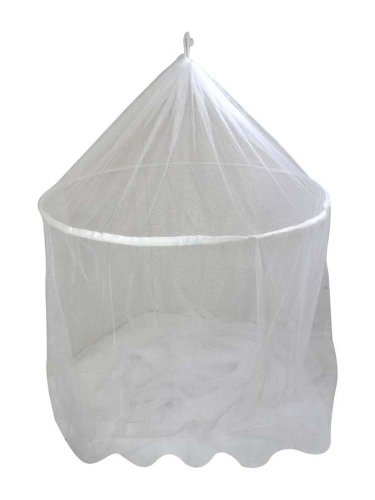 Hawk TC-NET-WHT 100-percent Polyester Mosquito Net, 60mm by 250mm by 800mm, White - 1