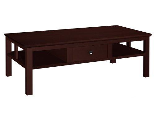 Buy Low Price 54 Shaker Style Coffee Table Dark Cherry 16 H X 54 W X 24 D Ft54sc Dc