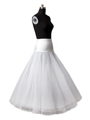Cocomelody 2014 White Bridal Petticoat for A Line Wedding Dress AC2002