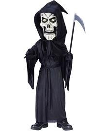 [Bobble Head Reaper Medium] (Bobble Head Halloween Costume)