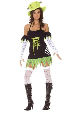Plus Size Monster Mistress Sexy Costume