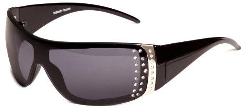 Iconeyewear Chantelle Wrap Women's Sunglasses Brown One Size