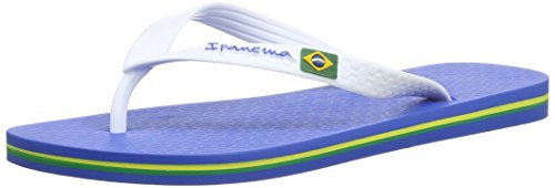 Ipanema Classica Brasil II Infradito da Uomo, Blu (Blue), 41/42