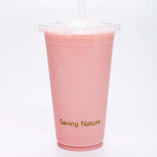 20 Ounces Basic Nature PLA Compostable Cold Drinking Cup 1000 count box