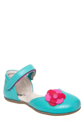 See Kai Run Kid's Anya Mary Jane Ankle Strap Flat Shoe