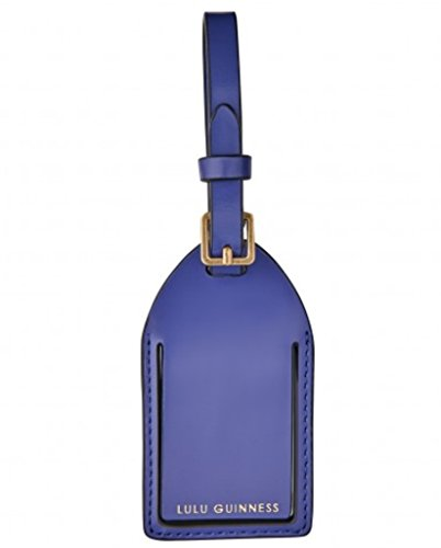 Lulu Guinness , Etichetta per valigie  Viola viola