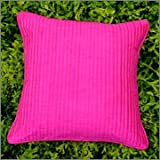 Cushion Casa Cushion Covers (Hot Pink)