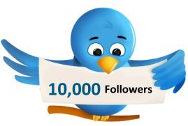 10,000+ TWITTER followers Delivery in 24-48 Hours
