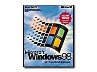Microsoft Windows 98 - Upgrade package - 1 user - CD - English