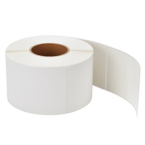 MFLABEL 4 Rolls 4x6 Inches Direct Thermal Blank Shipping Labels 1,000 Labels per Roll (4,000 Labels) (Direct Thermal Labels 4x3 compare prices)