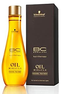Schwarzkopf Bonacure Oil Potion Finishing Treatment For Normal To Thick Hair Types (3.4 oz.)