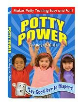 Potty Power for Boys and Girls Best Video Award Gold Seald in a 1''box(original Case)