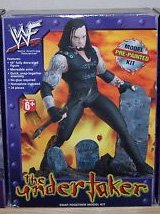WWF Undertaker Pre-painted Snap-together Model Kit