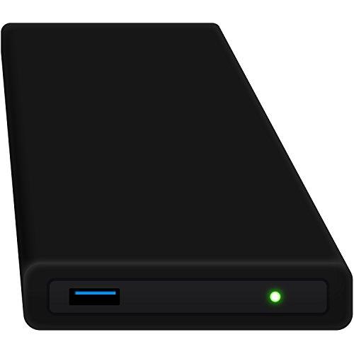 HipDisk externe Festplatte SSD 250GB (6,4 cm (2,5 Zoll), USB 3.0) HD-SW-250S schwarz mit austauschbarer Silikon-Schutzhülle inkl. Samsung 850 Evo