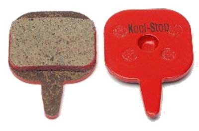 Buy Low Price Kool Stop Disc Brake Pads Steel Orange for Tektro Mech/Hydraulic (KS-D700)