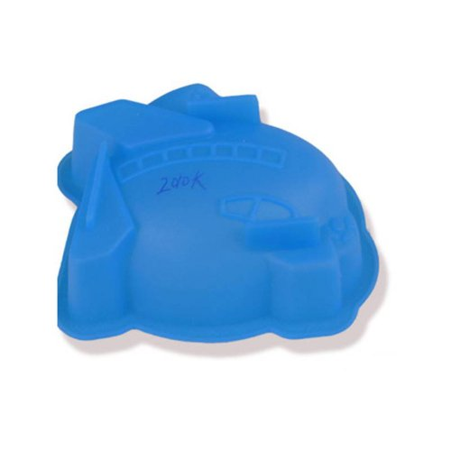 Small Helicopter Styling Silicone Mold Pudding Cake Mold For Microwave Oven