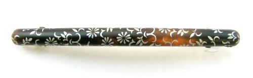 花柄スリムバレッタ 90614C