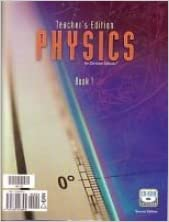Physics Teacher's Edition & CD-ROM (Grade 12)