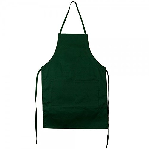 mega-cap-adult-forest-green-chef-bbq-kitchen-cooking-bib-apron