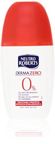 Neutro Roberts - Deodorante Derma Zero, Pelle Sana e Protetta - 75 ml
