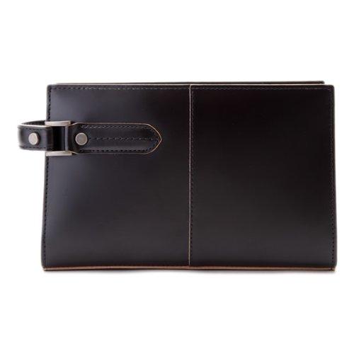 青木鞄(COMPLEX GARDENS)セカンドバッグ メンズ 革 [枯淡 コタン No.3679]