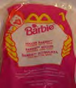 Soccer Barbie McDonalds Happy Meal Toy (1999, #1) - 1