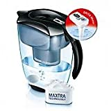 Brita Elemaris XL Water Filter Jug - Black - with Brita