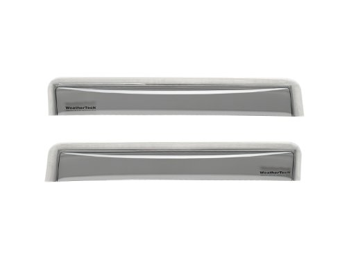 WeatherTech Custom Fit Front /& Rear Side Window Deflectors for Pontiac G6 Sedan Dark Smoke