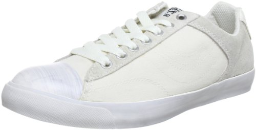 JACK & JONES JJ New York Basket Low Low Top Mens multi-coloured Mehrfarbig (WHISPER WHITE) Size: 7 (41 EU)