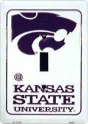 Kansas State Wildcats Metal Light Switch Plate
