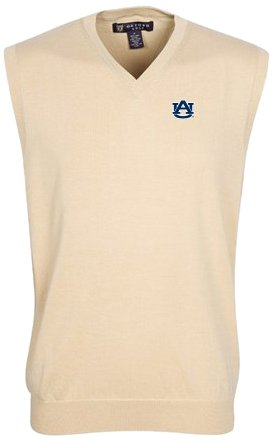 Oxford NCAA Auburn Tigers Mens Bristol Sweater Vest by Oxford