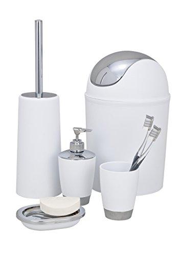 Wenko 19480100 porta scopino wc cromato scopini e porta - Wenko accessori bagno ...
