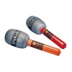 "Inflatable Microphone 24"" MultiColor, 1 Each"