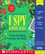 Scholastic I Spy School Days