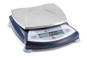 Ohaus Scout Pro SP401 Portable Digital Gram - Food - Ingredient - Jewelry - Lab Balance Scale, Capacity 400g x 0.1g or 14 oz x 0.005 oz, 4.7 in. Dia. Weigh Pan