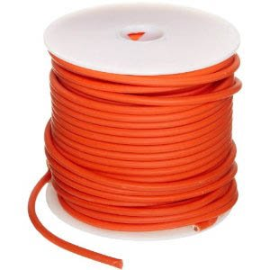 12 Ga. Orange Abrasion-Resistant General Purpose Wire (Gxl) - (Price Per 25 Feet)