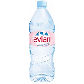 Have Evian bottled water delivered to your home or office.