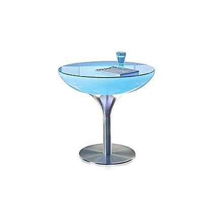 Lampada da tavolo, 60 x 100 cm, con led RGB, ricaricabile, Shine