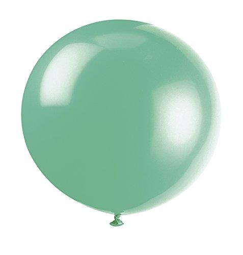 36-giant-latex-fern-green-balloons-pack-of-6