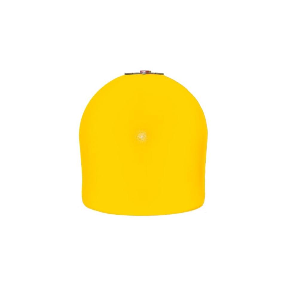 Connecticut Electric AL20Yel Aqua Buoy 20 Inch Solar Lighted Marker Buoy, Yellow