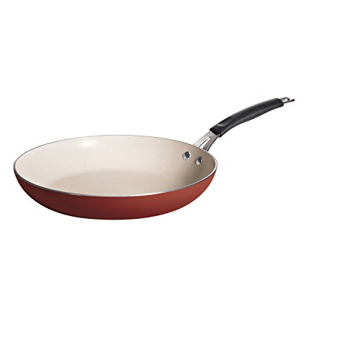 Tramontina 80151/055DS Style Simple Cooking Fry Pan, 12-Inch, Spice Red (Tfal 12inch Frypans compare prices)