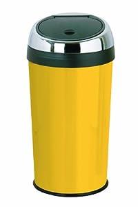 push top bin 30 litre yellow kitchen home