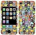 Furrybones® iPhone 4/4S Compatible Skin Variety Furrybonapalooza