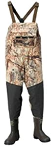 LaCrosse Men's Alpha Swampfox Mossy Oak Duck Blind 600G Wader Boots, 7-Medium