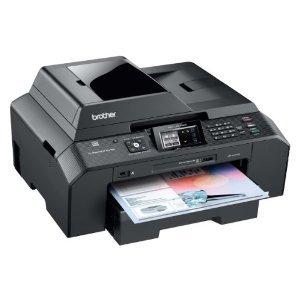 Brother MFC-5895CW WLAN Multifunktionsgerät Fax, Scanner, Kopierer und Drucker + 10 Youprint Patronen + USB-Kabel (Originalpatronen nicht im Lieferumfang)