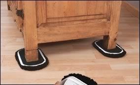 ez move furniture sliders for carpet with hard surface socks new ebay. Black Bedroom Furniture Sets. Home Design Ideas